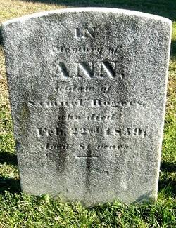 """Ann """"Nancy"""" <I>Fisher</I> Rogers"""