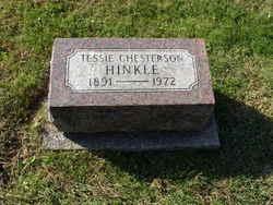 Tessie <I>Chesterson</I> Hinkle