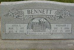 Anna Elizabeth <I>Geertsen</I> Bennett