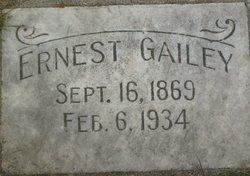 Ernest Gailey