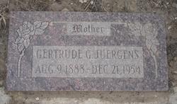 Gertrude G <I>Parker</I> Juergens