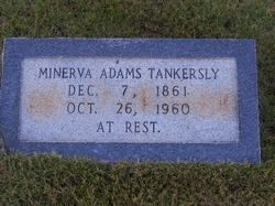 Minerva <I>Adams</I> Tankersley