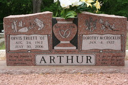 Orvis Truett Ot Arthur
