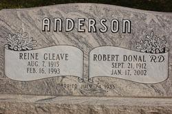 Reine <I>Gleave</I> Anderson