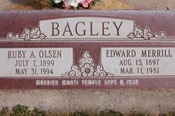 Edward Merrill Bagley