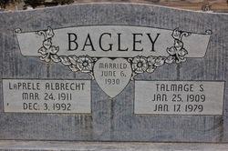 Nellie LaPrele <I>Albrecht</I> Bagley