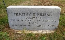 Corp Timothy E Kimball