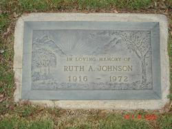 Ruth Angeline <I>Gibson</I> Johnson