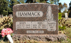 Mary Louise <I>Dilbeck</I> Hammack