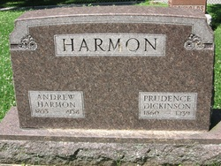 Prudence <I>Harmon</I> Dickinson