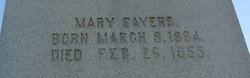 Mary Estelle Sayers