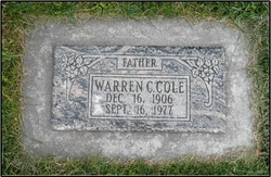 Warren Charles Cole