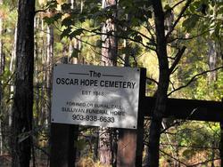 Oscar Hope Cemetery