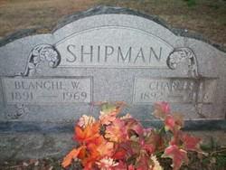 Blanche <I>Wheeler</I> Shipman