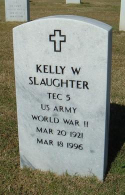 Kelly W Slaughter