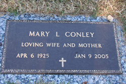 Mary Louise <I>Miller</I> Conley