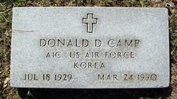 Donald D Camp