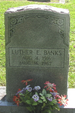 Luther E Banks
