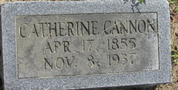 Catherine Cannon