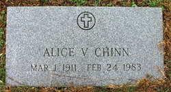 Alice V Chinn