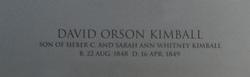 David Orson Kimball
