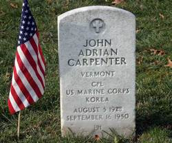 Corp John Adrian Carpenter