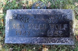 Ada Belle <I>Cummings</I> Wolf