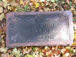 """Oliver Milo """"Dutch"""" Allen"""