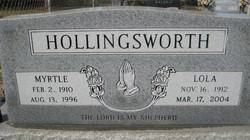 Myrtle Hollingsworth