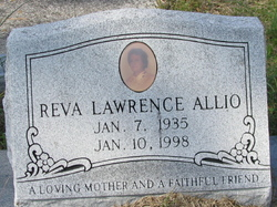 Reva <I>Lawrence</I> Allio