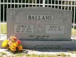 George H. Ballans