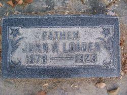 John Harry Loader