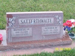 Althea <I>Wamsley</I> Satterthwaite