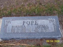 Burton Alexander Pope