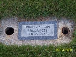 Francis Sarah Pope