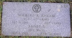 Wilbert R Rheam