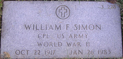 William F Simon