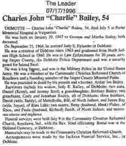 Charles John Bailey