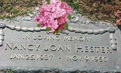 """Nancy Joan """"Joanne"""" Hester"""