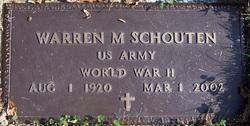 Warren M Schouten