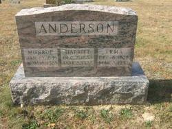 Harriett <I>Purcell</I> Anderson