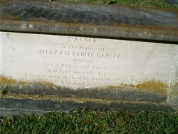 """Margaret McKnitt """"Peggy"""" <I>Alexander</I> Ramsey"""