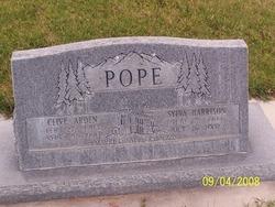 Sylva <I>Harrison</I> Pope