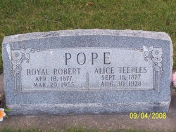 Royal Robert Pope
