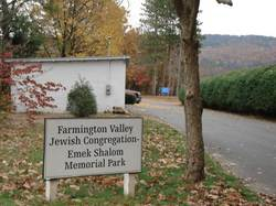 Farmington Valley Jewish Congregation Memorial Par