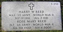 Harry W Reed