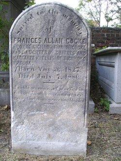 Frances Allan <I>Ellis</I> Cocke
