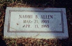 Naomi <I>Bolling</I> Allen
