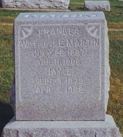 Frances Margaret <I>Manley</I> Martin