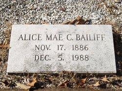 Alice Mae C Bailiff